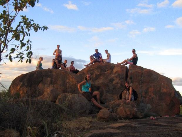 crew on the mountain