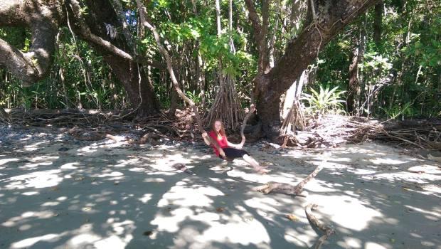 Swinging in a Liana